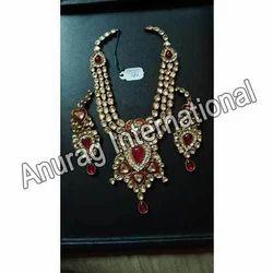 Latest Gold Kundan Necklace Sets