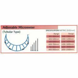 Adjustable Micrometer (Range 500-600mm)