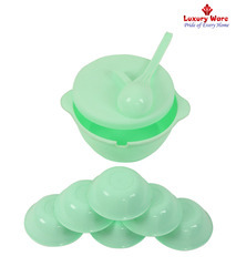 Green Pudding Set