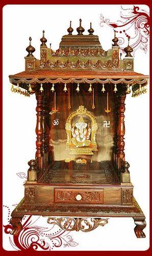 Designer Puja Mandap Wooden Puja Mandap Manufacturer