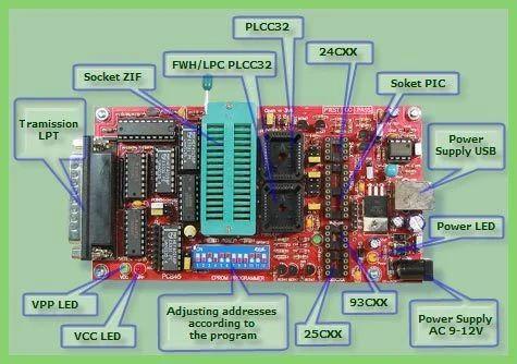 Eeprom Programmer, ईप्रोम प्रोग्रामर - View