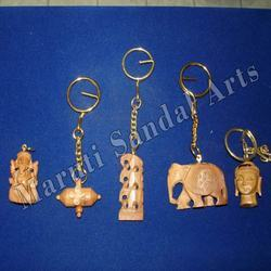 Sandalwood Key Chain