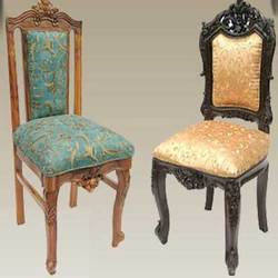 Ordinaire Wooden Carved Dining Chairs, Carved Wooden Furniture   Waseem Exporter,  Dehradun | ID: 3005384573