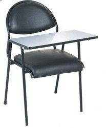 Decorataive Black Metal Study Chair, For ClassRoom
