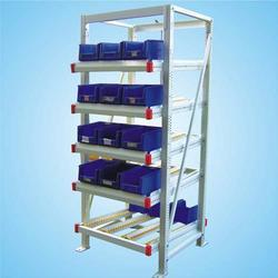 FIFO Storage Rack with Formed Section