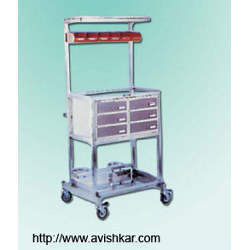 Emergency Trolley And Crash Cart