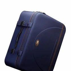 Genex Blue Lightweight Polyester Suitcases
