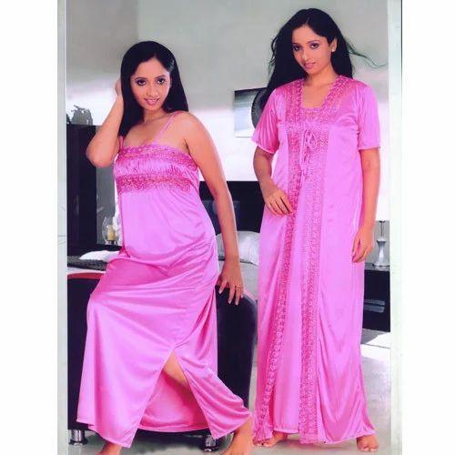 Ladies Night Gown | Dawars Xclusif | Manufacturer in New Delhi | ID ...
