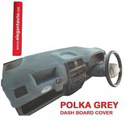 Grey Polka Dash Board Covers