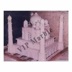 White Traditional Decorative Marble Handicraft