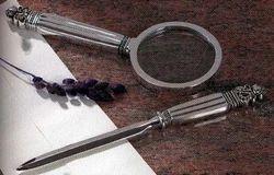 Magnifying Glass & Letter Opener