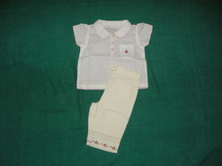 Cotton Unisex Infant Dresses