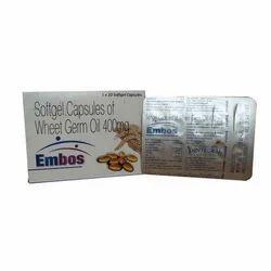 Softgel Capsule of Wheat Germ Oil