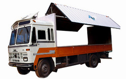 Truck Body Building1613 Container - Side Hyd Lift