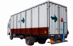 (truck Body Building)1613 Container - Side Opening