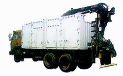 (truck Body Building)truck Mounted Crane