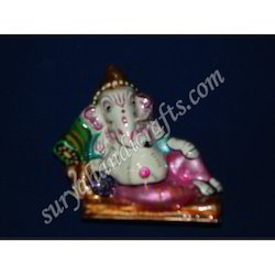 Meena Painting Ganesh Ji With Sitting