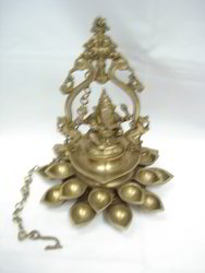 Ganesh Ji With Deep Brass