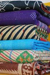 Reversible Kantha Quilt