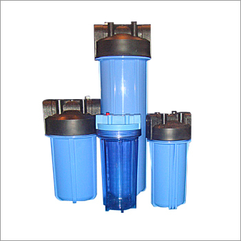 Polypropylene Blue Moulded Filter Housing for Water Industry