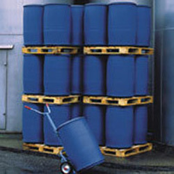 Blue Used Quality HDPE Drums, Capacity: 200-220