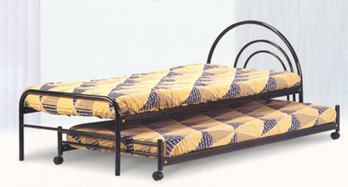 Delicieux Black Single With Trundle Bed