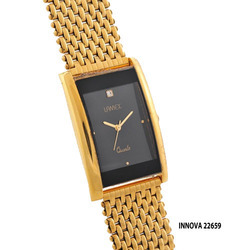 Men's Innova Golden Watch