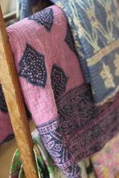 Vintage Gudari Kantha Quilt