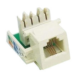 Cat 3 Keystone Jacks For Telephone Outlet- Voice