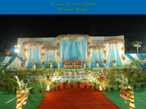 Weedting Stage & Service Provider of Weedting Stage u0026 Wedding Gate by Marwadi Tent ...