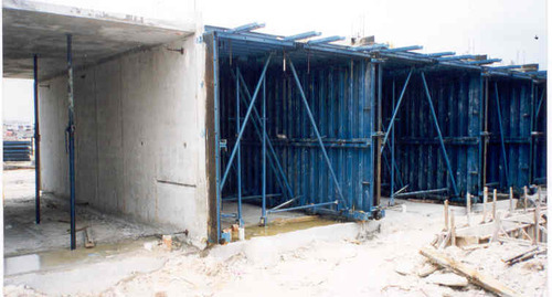 Formwork And Shuttering Systems Single Sided Formwork