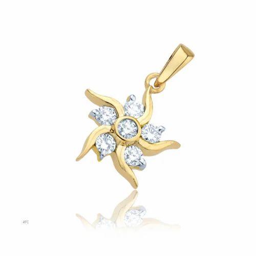 Diamond pendants avsar real gold and diamond sunshine pendant avsar real gold and diamond sunshine pendant avp012 mozeypictures Gallery