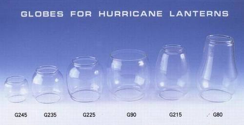 Hurricane Lantern Glass Globe