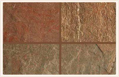 Brown Copper Slate Natural Slate Stone, Slab, tile