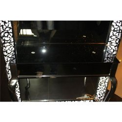 Mirror Illumina Black Styling Station
