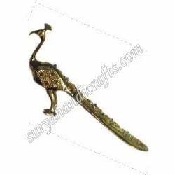 Brass Stone Peacock
