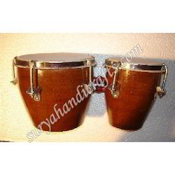 Wooden Round Bongo