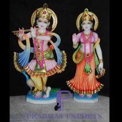 Lord Radha Krishna Stone Statues