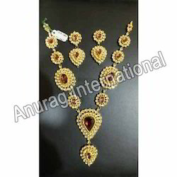Ruby and Kundan Necklace Sets
