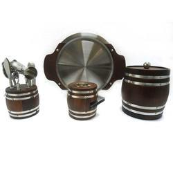 Barrel Barware Set
