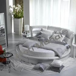 Modern Leatherette Bed