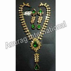 Stylish Party Wear Kundan Necklace Sets