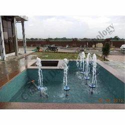 Foam Jet Fountain
