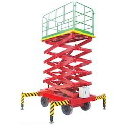 Mobile High Raised Scissor Lift