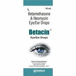 Betamethasone & Neomycin Eye/Ear Drops-Betacin
