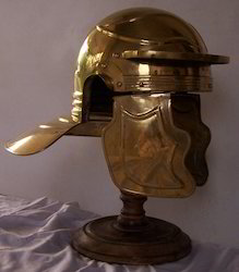 Aquinson Helmet In Brass