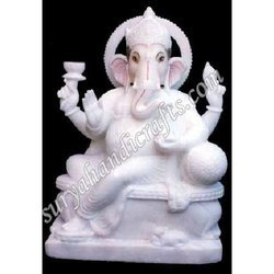 Marble Plane Ganesha
