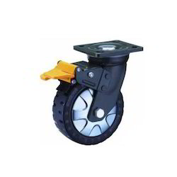 Polyurethane Caster Wheel With Taper Roller Bearing