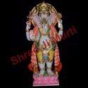 Marble Ganesha Standing Statue