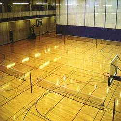 Wooden Sports Flooring for Multi Purpose Sports Hall